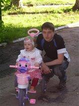 Папа и доченька