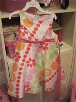 Платье из США, 4г - 700р