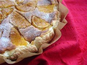 пирог с творогом и апельсинами
