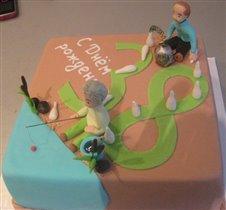 Торт Братьям близнецам