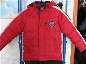 куртка зимняя р 140 H&M
