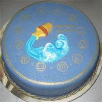 Тортик Знак зодиака Водолей