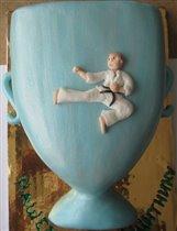 Торт Кубок каратисту