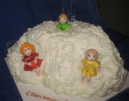 Торт Феи на облаке