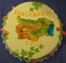 Торт Карта Болгарии