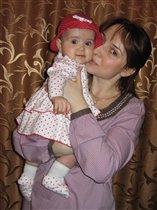 Мама с любимой Ладочкой!