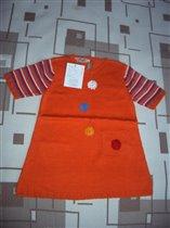 Х/б платье Фа*нти*ки, р.98 - 670 руб.