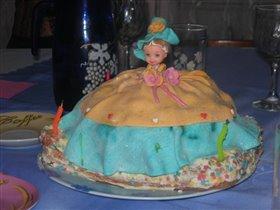 вот такой тортик получился
