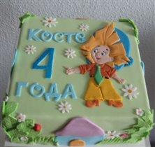 Торт Незнайка