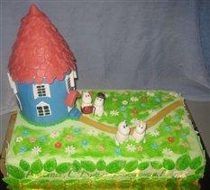 Торт Мумми Тролли