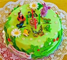 Торт Лунтик и компания