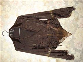 нарядная блуза,р.46.