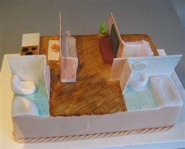 Торт Квартира