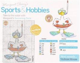 Sports & hobbies - Swimming duck