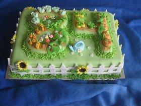 Торт Грядки