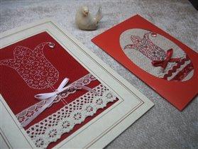 открытки дочкам к 8 Марта