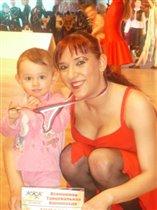 Мама и дочька чемпионы!