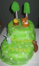 Торт Колобок