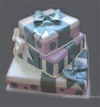 Торт Коробки с подарками