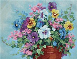 Dimensions 35019 Pansy Profusion