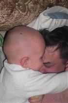охраняю папин сон в своём сне