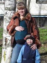 Любимый сынуля,а скоро и малышка доча!