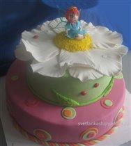 Торт Фея на цветке