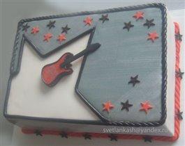 Торт Рок гитаристу