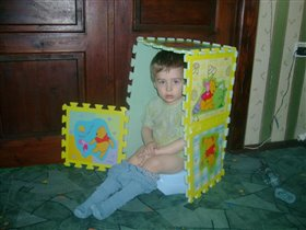 Будущий строитель :)))))))