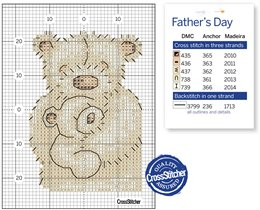Fathers day teddy
