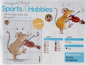 Sports & hobbies - Violinist Mouse