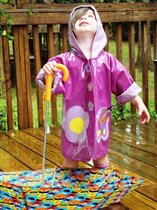 Расту под дождиком!