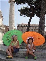 Варя и Вася в Риме.