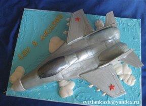 Торт МиГ 29