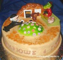 Торт Крокодил Гена
