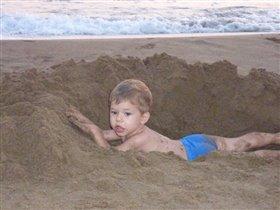 Песочные ванны!