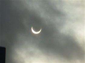 Луна затмевает солнце... (ноябрь 2011)