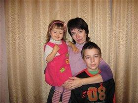 Я и мои детки -Катя и Кирилл