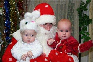 Дед Мороз в гостях