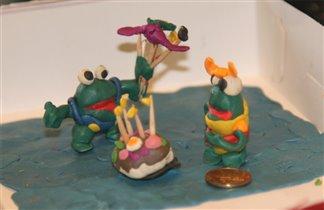 День рождения лягушки