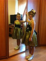 Платье ЭФ от Флэшки, размер 6, 2010 г.