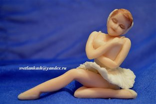 Сахарная фигурка балерины