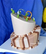 Качающийся торт