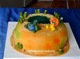 Торт Львёнок и черепаха