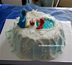 Торт Пингвинёнок Ло ло.