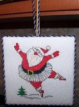 Санта в пачке