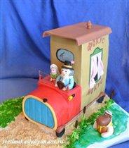 Торт Фунтик в фургончике дядюшки Мокуса