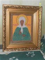Икона ' Святая Матрона'