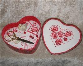 сердечная шкатулочка и маячок от Ирочки-♥ИС