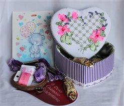 Сердечная коробочка от Тани YTV